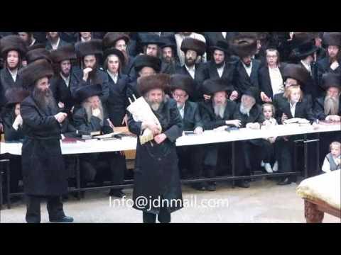 Rachmastrivka Rebbe Dancing With the Torah 5777