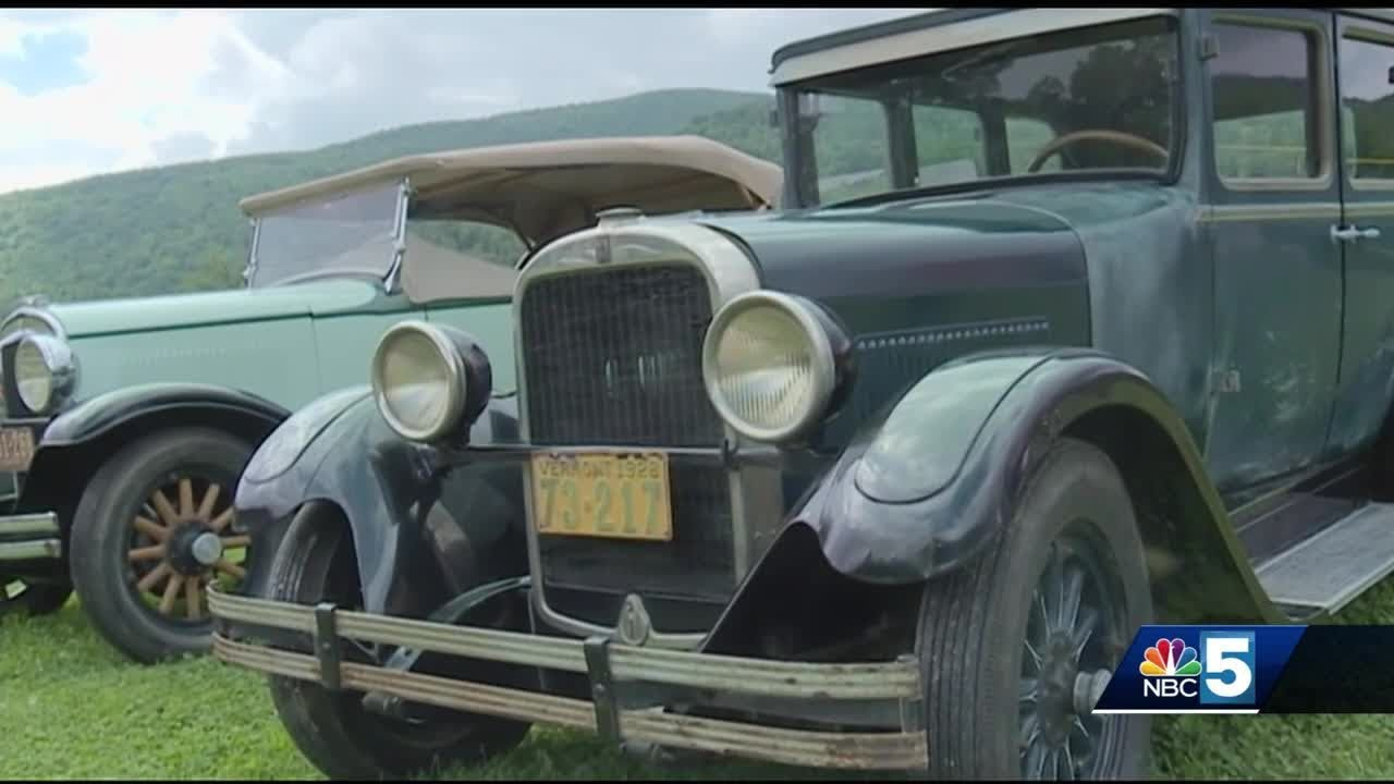 New location, same traditions for Vermont Antique Car Show - YouTube