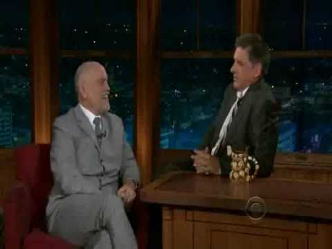 John Malkovich on The LLS with Craig Ferguson 10/11/10 (part 2)