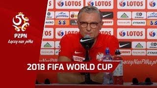 Konferencja reprezentacji Polski (Soczi, 25.06.2018)