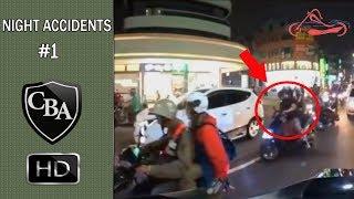 Car Crashes | Night Accidents #1 | Car Crashes Compilation | CBA
