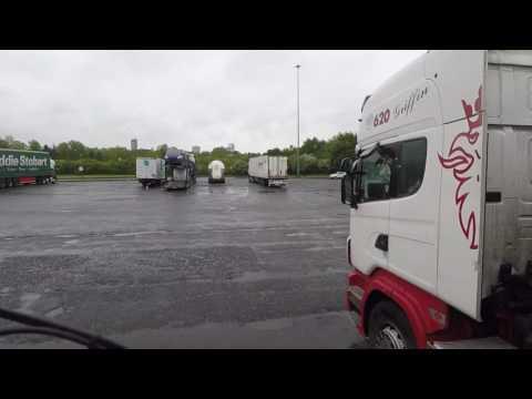 HGV Vlogging #37 Carlisle Glasgow and Edinburgh