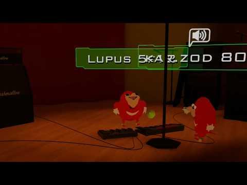 Knuckles Karaoke Night - VRChat
