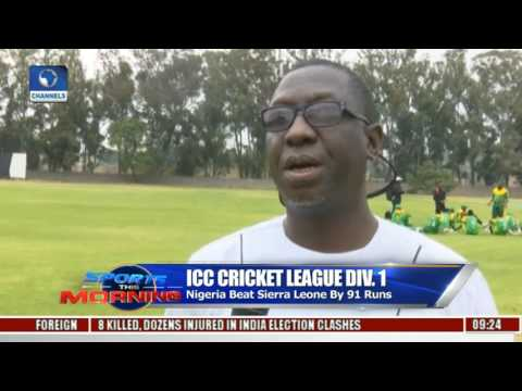 ICC Cricket: Nigeria Beat Sierra Leone By 91 Runs
