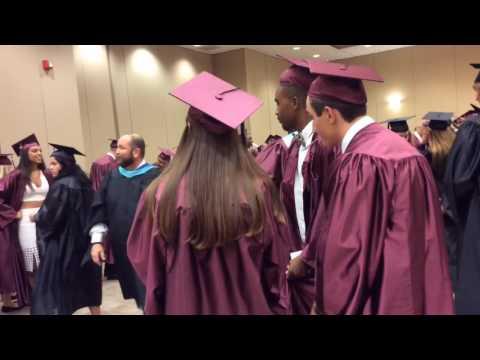 Braden River High School students graduate
