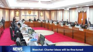 Meechai Charter ideas will be fine tuned