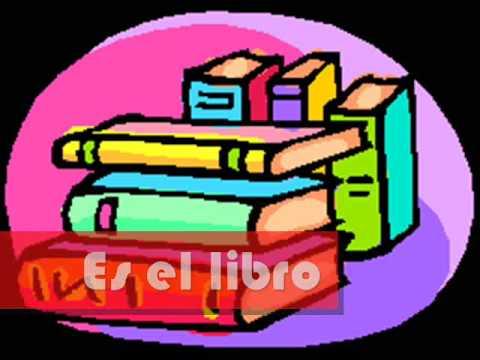 La mochila - Spanish school supply vocabulary - Patti Lozano