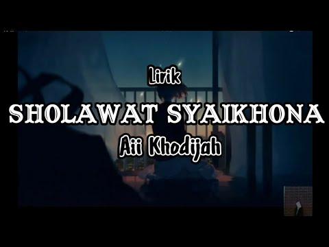 sholawat-tersedih-terbaru-2020(lirik)-  -aii-khodijah-(syaikhona)