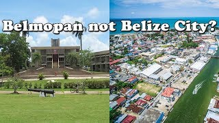 Why is BELMOPAN the Capital of BELIZE? | Why isn't the Largest City Belize City the Capital?