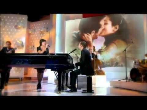 Laurent Couson et Liane Foly chante à Vivement Dimanche