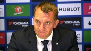 Chelsea 1-1 Leicester - Brendan Rodgers Full Post Match Press Conference - Premier League