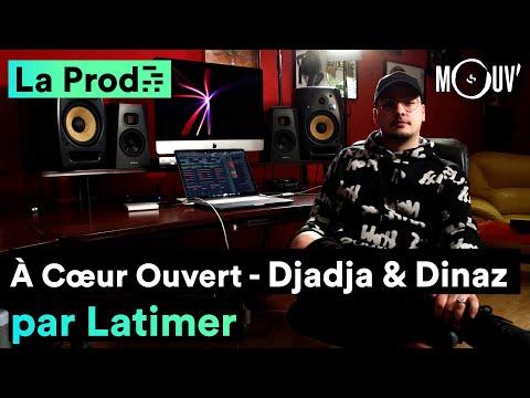 Youtube: DJADJA & DINAZ –«À Cœur Ouvert»: comment Latimer a composé le morceau