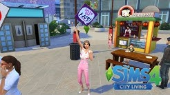 Let's Play: The Sims 4 City Living (Social Media Career working from home!)