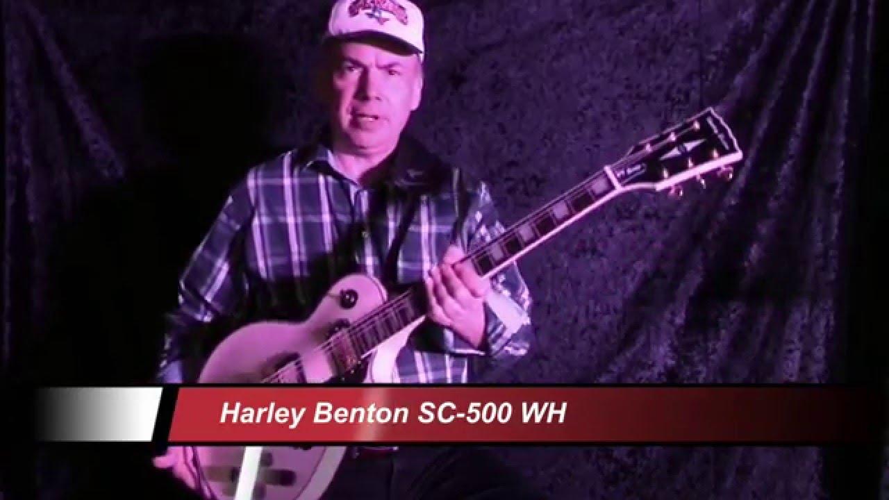 Harley Benton Sc 500 Wh Youtube