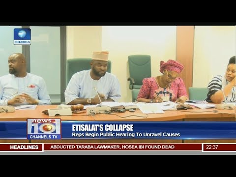Reps Begin Public Hearing To Unravel Causes Of Etisalat's Collapse