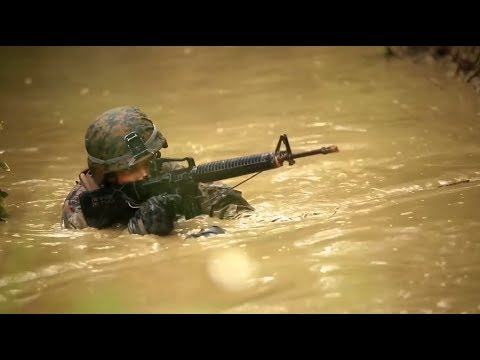 Marine Corps JUNGLE WARFARE Training