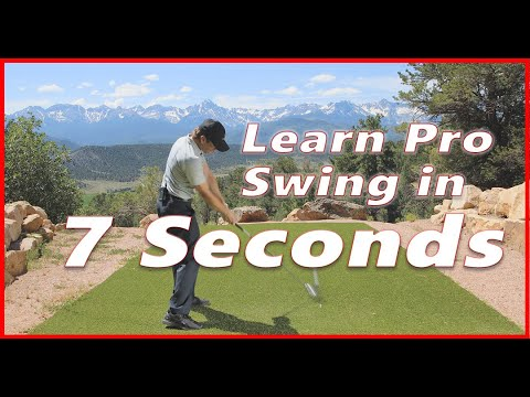 Can You REALLY Learn the Golf Swing in 7 Seconds?