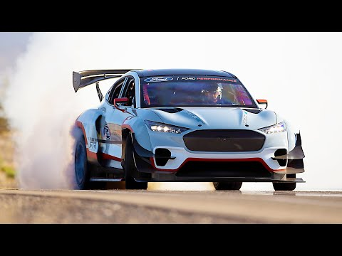 1,400-HP Ford Mustang MACH-E – Powerful Electric Car with 7 Motors!!!