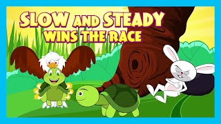 Slow And Steady Wins The Race | Short Story for Children in English | Bedtime Stories In English