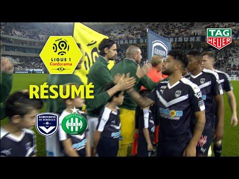 Girondins De Bordeaux - AS Saint-Etienne ( 3-2 ) - Résumé - (GdB - ASSE) / 2018-19