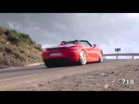 718 vs 981 Porsche Boxster S Sound Comparison