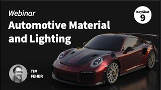 Advanced Automotive Material and Lighting in KeyShot