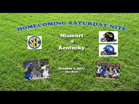2017 Missouri @ Kentucky One Hour
