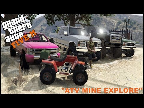 GTA 5 ROLEPLAY - ATV ABANDON MINES EXPLORE - EP. 223 - CIV