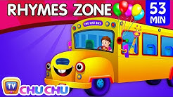 Wheels On The Bus | Popular Nursery Rhymes Collection for Children | ChuChu TV Rhymes Zone