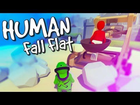 BEST OF HUMAN FALL FLAT #5 COOP! 😂 /w Honigball