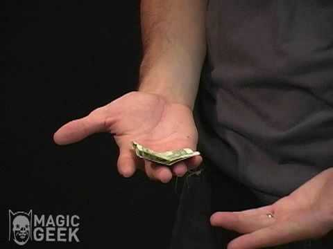 Self-Folding Dollar Bill