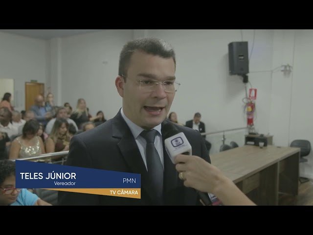 Teles Júnior é propositor de sessão solene que homenageou o dia da família.