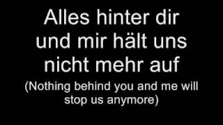 Tokio Hotel - Übers Ende der Welt (Lyrics w/ English Translation)