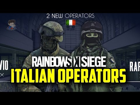 Rainbow Six Siege New Italian Operators GADGETS LEAK! Bullet Proof Drone & Decoy Projectile R6 Y3S2
