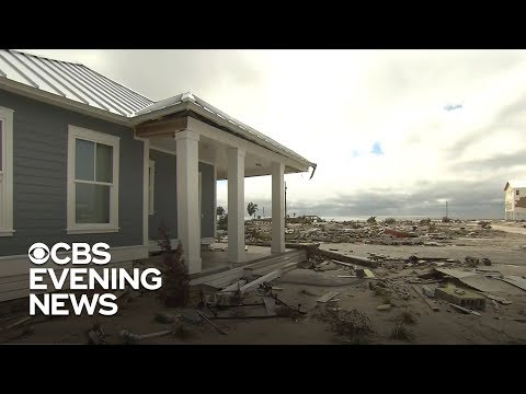 Cleanup still underway in Florida, five weeks after Hurricane Michael