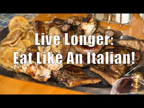 Live Longer and Healthier: Eat Like An Italian! (Med Diet Ep  149) DiTuro Productions