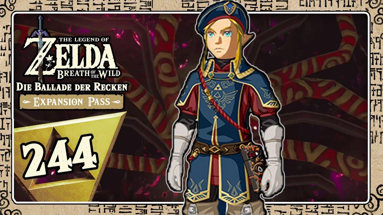 The Legend Of Zelda Breath Of The Wild Part 244 Link Als Konigliche Leibgarde Youtube