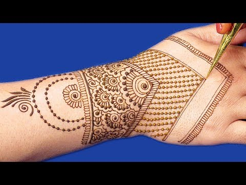 New Floral Mehndi Design for Hands | Henna Designs for Hands @ ekunji #056