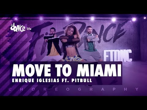 Move To Miami - Enrique Iglesias ft. Pitbull | FitDance Life (Coreografía) Dance Video