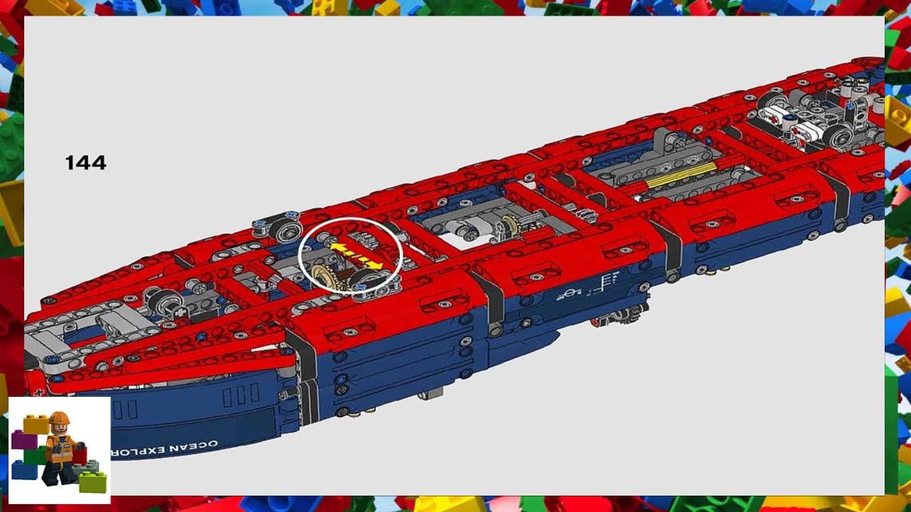 Lego Instructions Technic 42064 Ocean Explorer Youtube