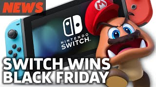 Nintendo Switch Wins Black Friday, Call of Duty: WW2 Nerfs! - GS News Roundup