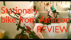 ★☆☆☆☆ BELT WORE OUT - OneTwoFit Exercise Bike Review - Cycling Spinning Bike Home Gym