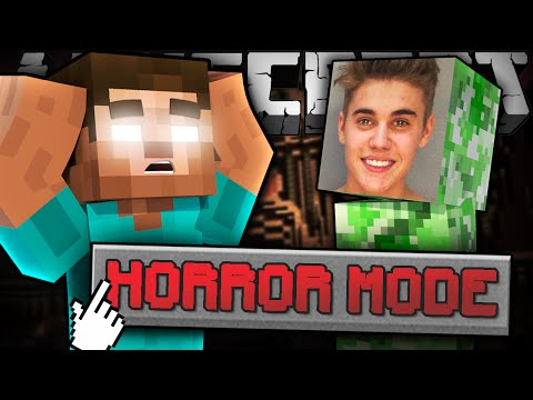 Thumbnail: If HORROR MODE Was Added to Minecraft