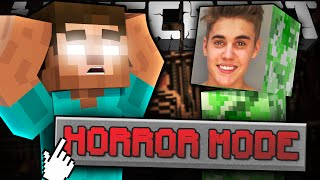 If HORROR MODE Was Added to Minecraft thumbnail