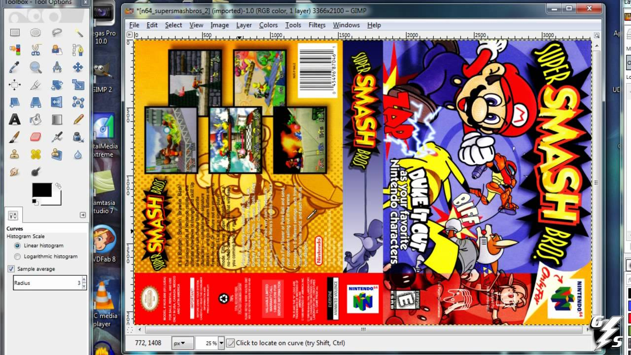 Universal Video Game Cases Cover Project Tutorial Youtube