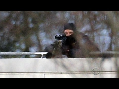 Kouachi brothers' terror spree ends in hail of gunfire