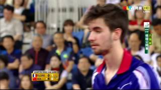 2016 Korea Open (MS-QF) MA Long - FLORE Tristan [HD] [Full Match/Chinese]