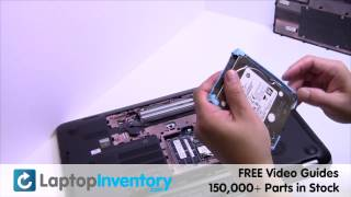 HP Envy 17 15 Hard Drive Replacement Guide - SATA Laptop Remove Replace Install