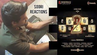 Soori reactions on Sathuranka Vettai 2 Teaser | Arvind Swamy, Trisha