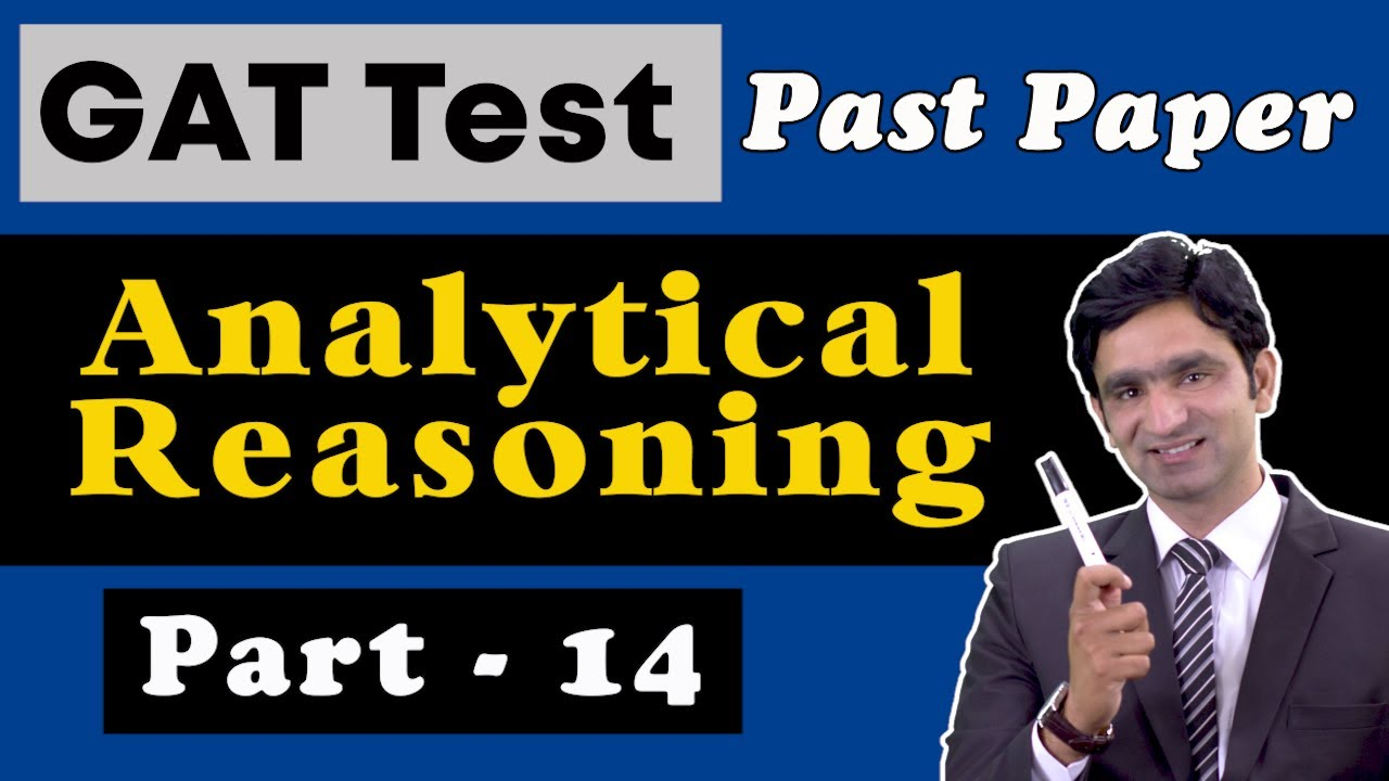 Download NTS GAT General Test Analytical Reasoning Preparation | GAT General Test Past Papers